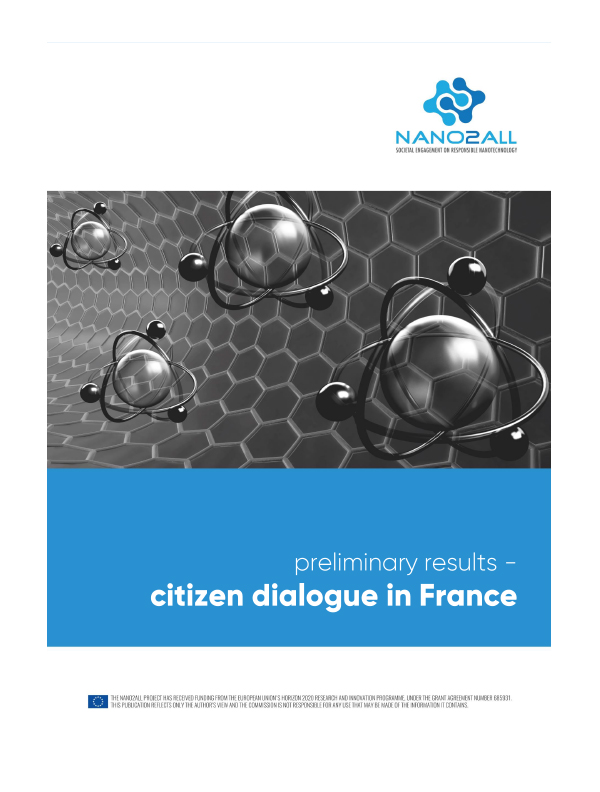 image: Citizen Nanodialogue in France