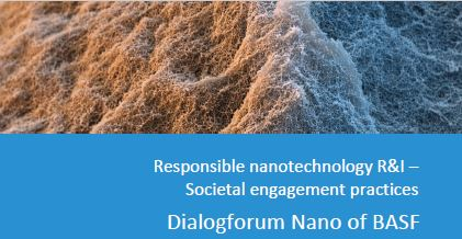 image: Societal engagement practice - Dialogforum Nano of BASF