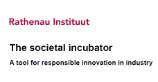 image: The societal incubator - A tool for responsible innovation in industry