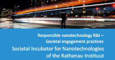 image: Societal Engagement Practice - Societal Incubator for Nanotechnologies of the Rathenau Instituut