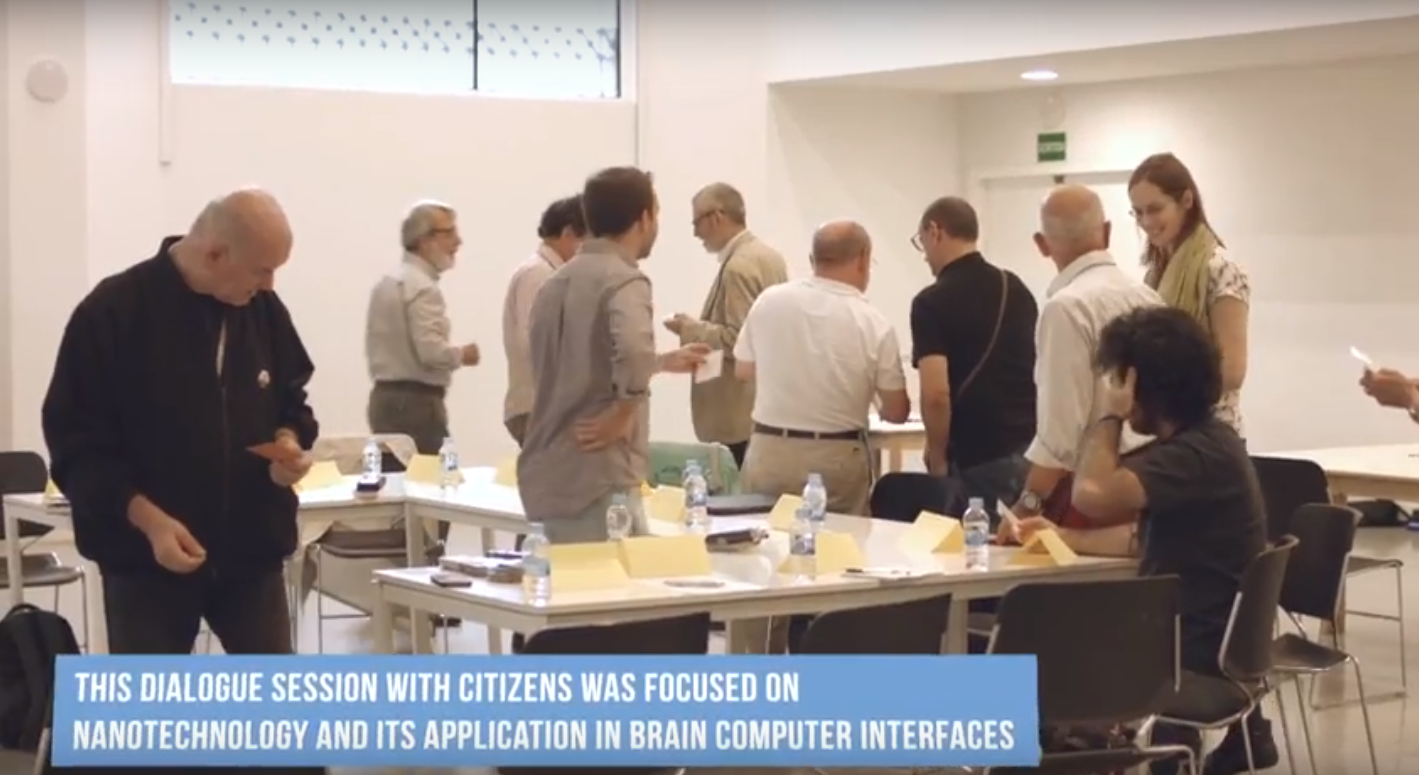 image: Nano2All Citizens Debate (Barcelona, June 2017) #RRI